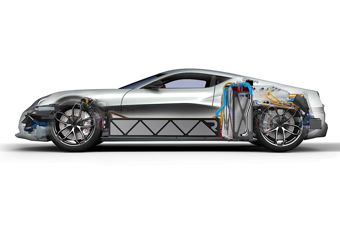 2016款 Rimac Concept One 官图 动力底盘