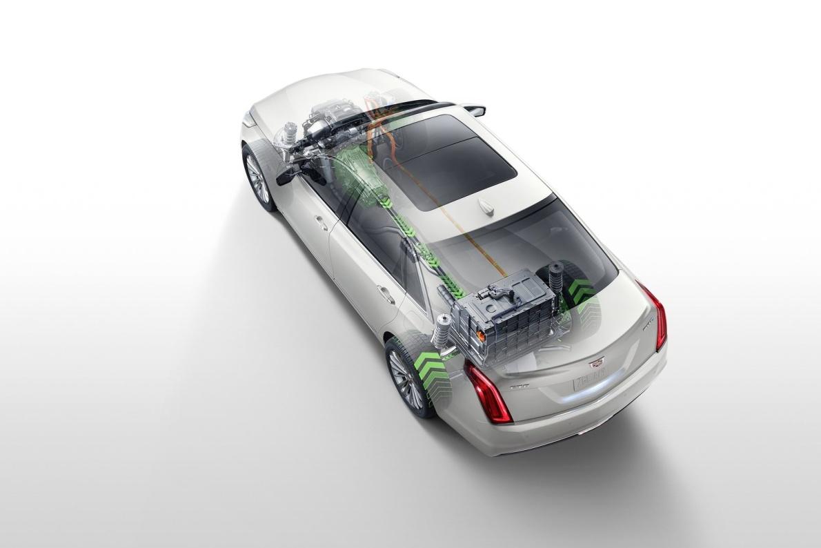 2017款 凯迪拉克 CT6(海外) Plug-in Hybrid 官图 动力底盘