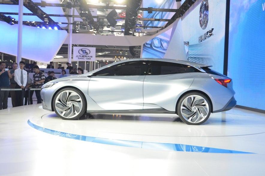 2016款 别克 Velite 基本型 车展 外观