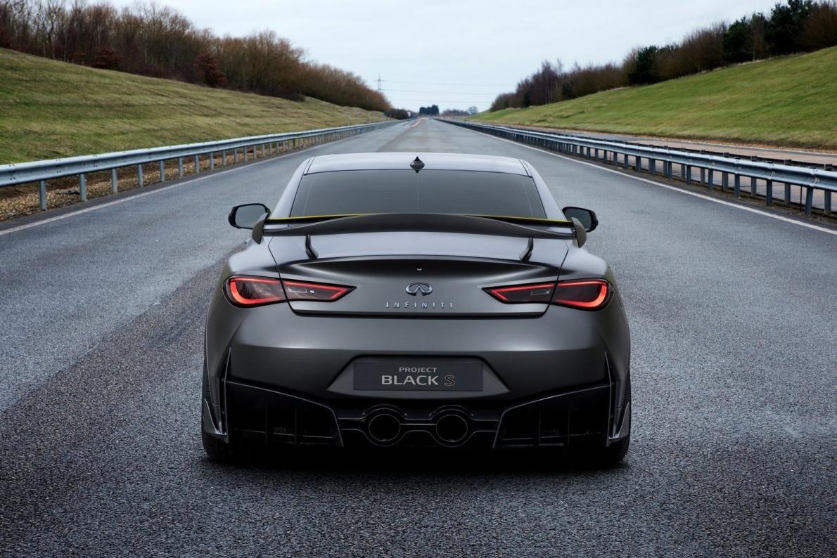 2017款 英菲尼迪Q60 Project Black S Concept 官图 外观
