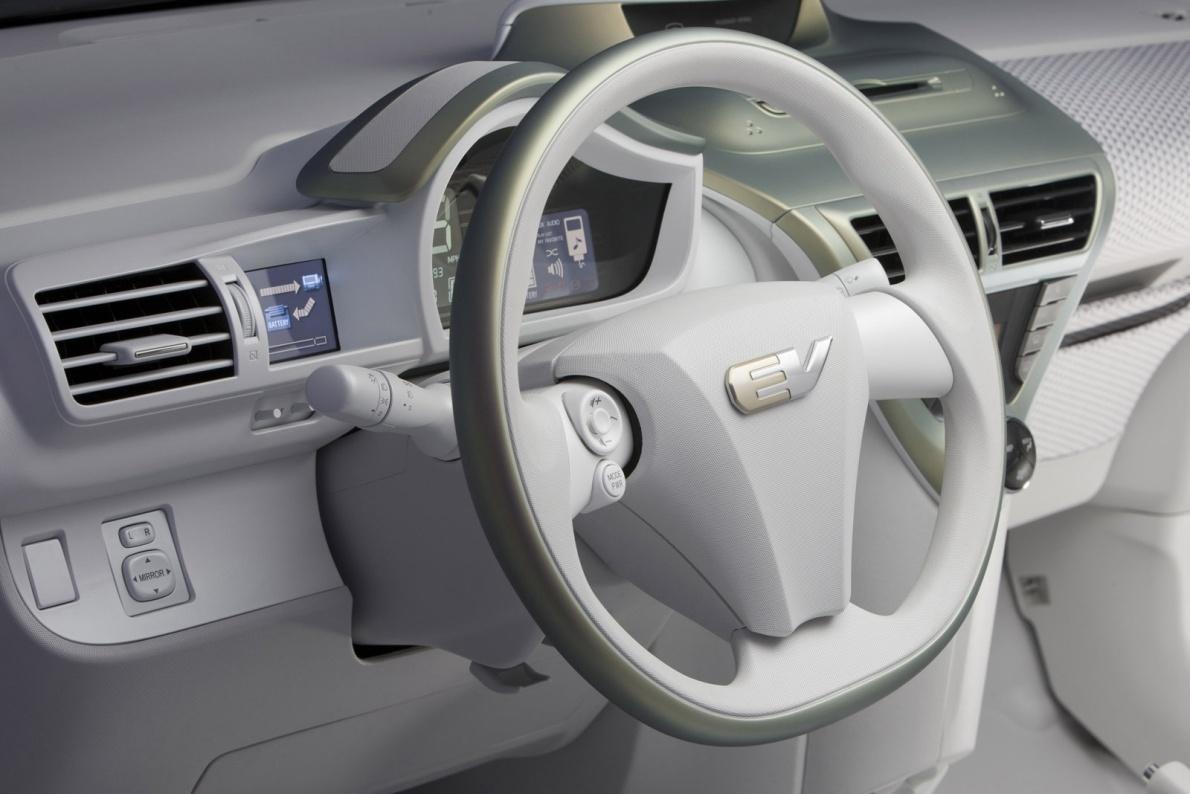 2009款 丰田 FT-EV Concept 官图 内饰