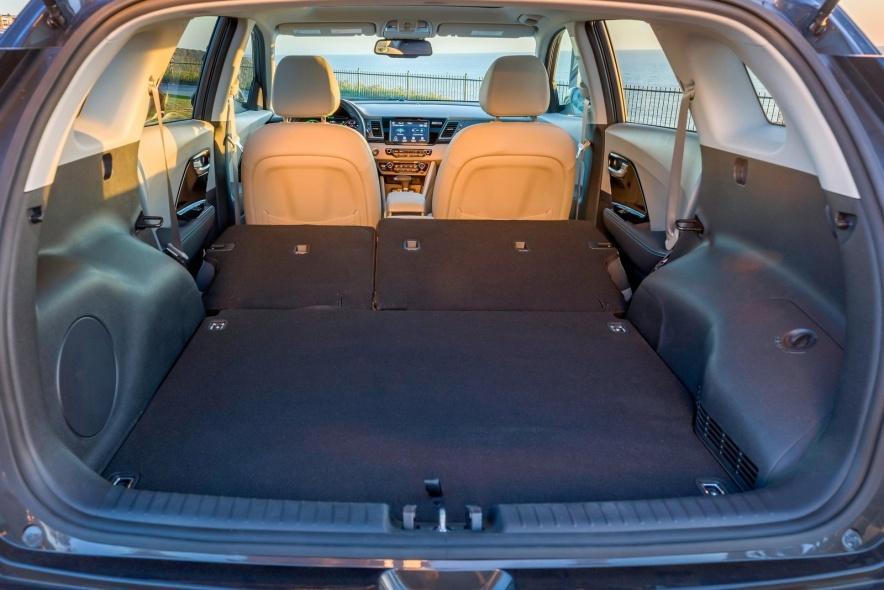 2018款 起亚 Niro Plug-In Hybrid 官图 座椅空间