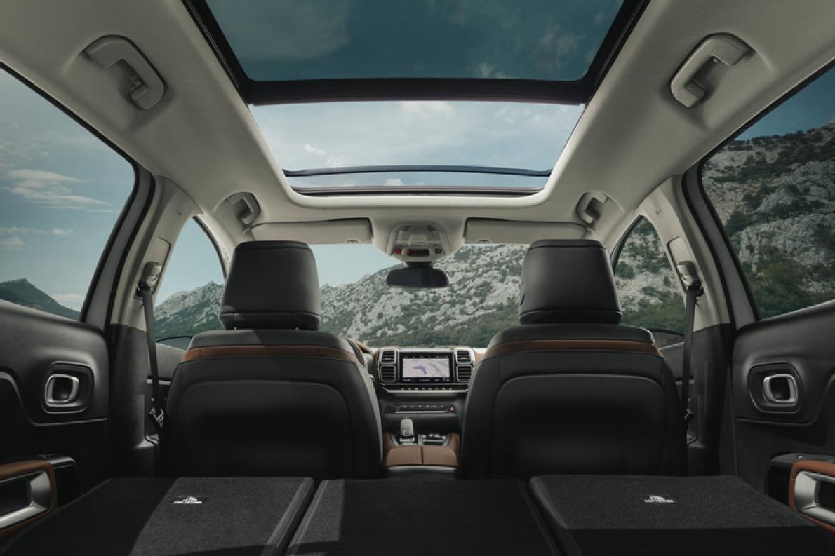 2018款 雪铁龙 C5 Aircross Concept 官图 座椅空间