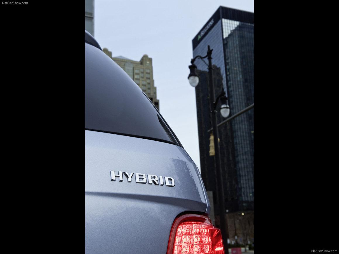 2010款 奔驰 M级 ML450 Hybrid 官图 外观细节
