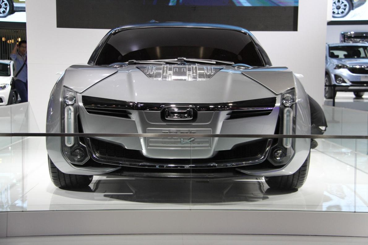 2018款 观致 Model K Concept 车展 外观