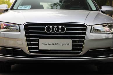 2014款 奥迪A8L 40 Hybrid 实拍 外观细节