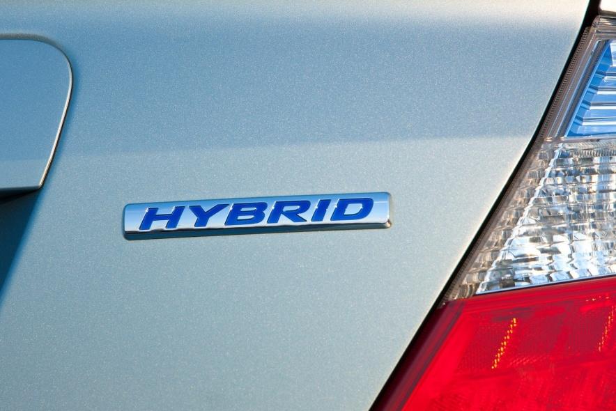 2012款 本田 思域 Hybrid 官图 外观细节