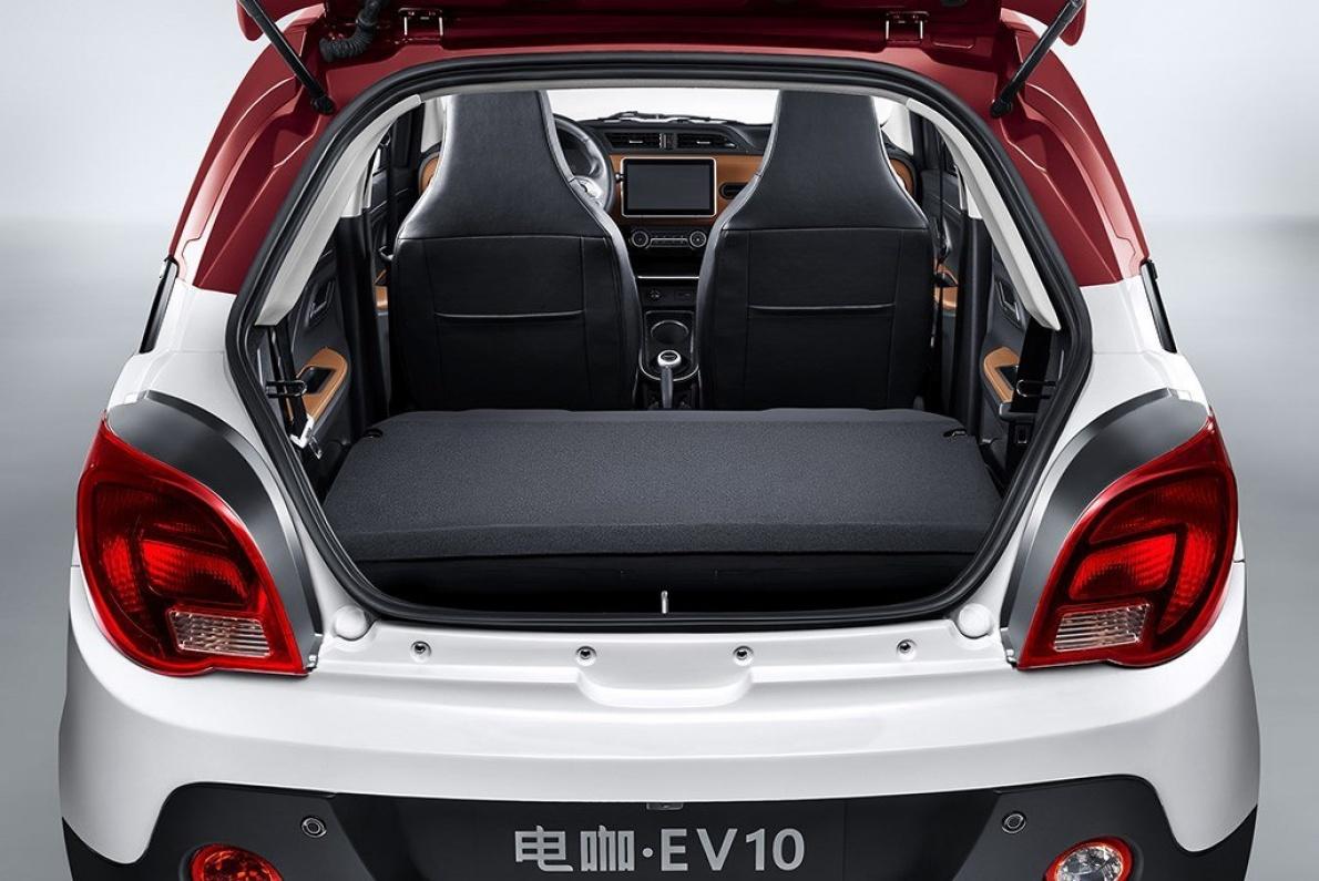 2017款 电咖 EV10 基本型 官图 座椅空间