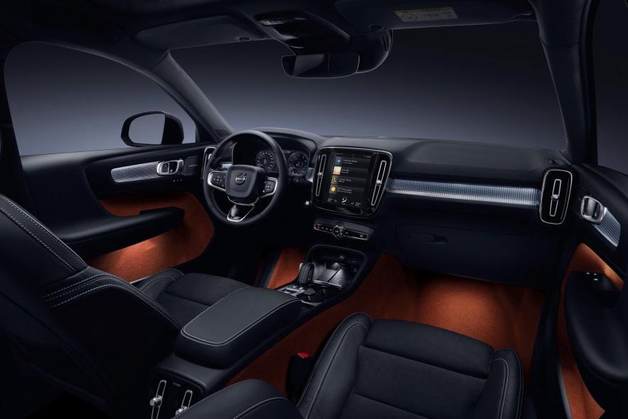 2018款 沃尔沃 XC40  Concept 官图 座椅空间