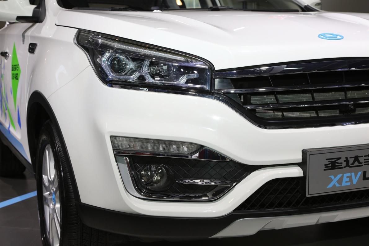 2018款 华泰 圣达菲 XEV400 车展 细节
