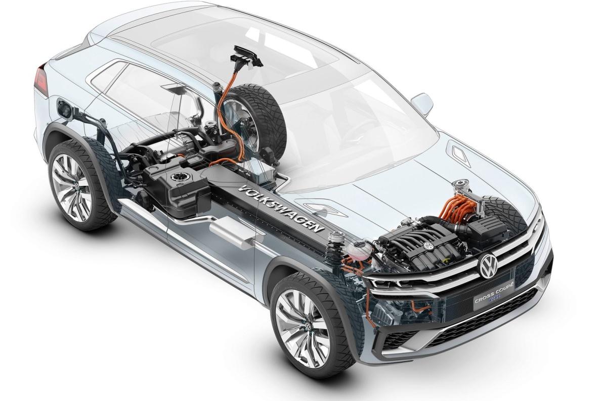 2015款 大众 Cross Coupe GTE Concept 官图 动力底盘