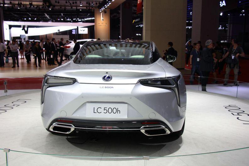 2017款雷克萨斯LC500h 上海车展