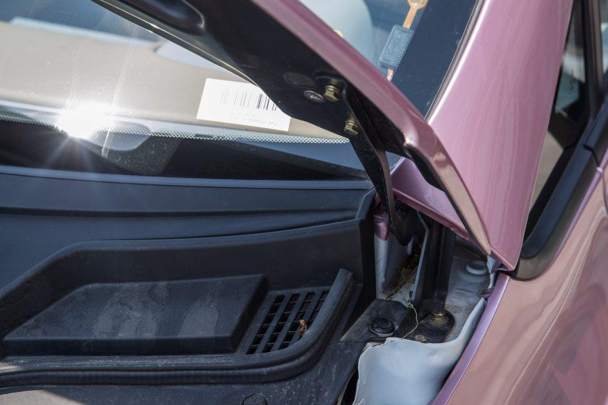 2017款 众泰 E200 豪华型 金玫映雪 实拍 动力底盘