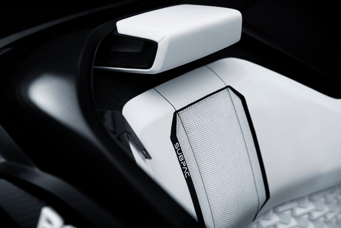 2015款 标致 Fractal Concept 官图 座椅空间