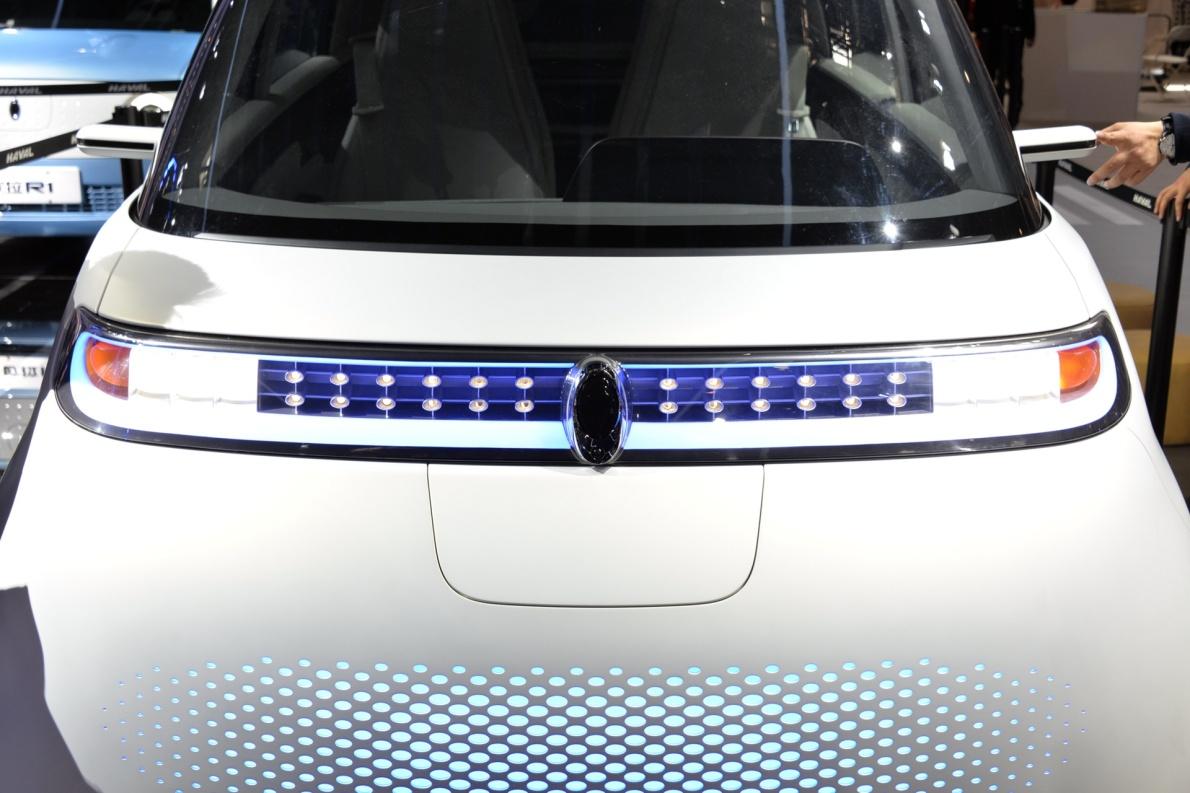 2018款 欧拉 R2 车展 细节
