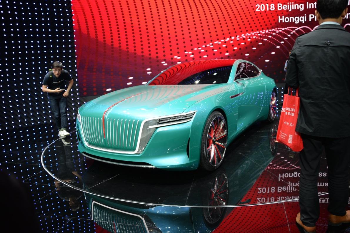 2018款 红旗 E·境GT 车展 外观
