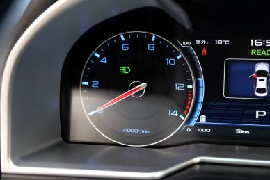 2017款 吉利 帝豪EV300 精英型 云母红 实拍 内饰