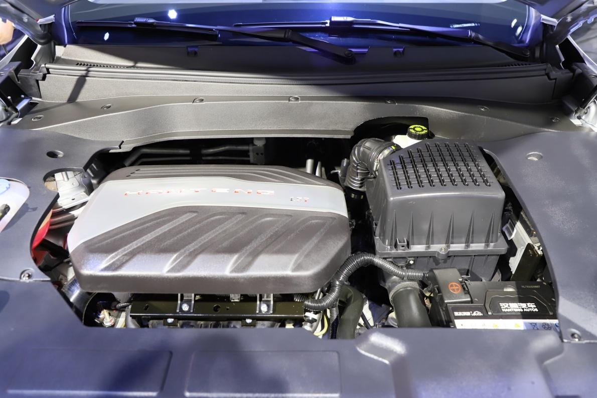 2018款 汉腾 X7 车展 动力底盘