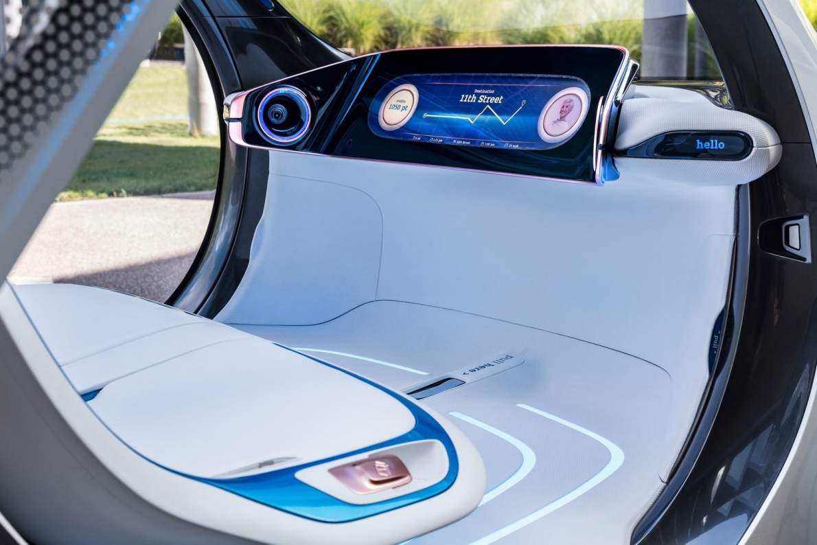 2017款 Smart Vision EQ ForTwo Concept 官图 座椅空间