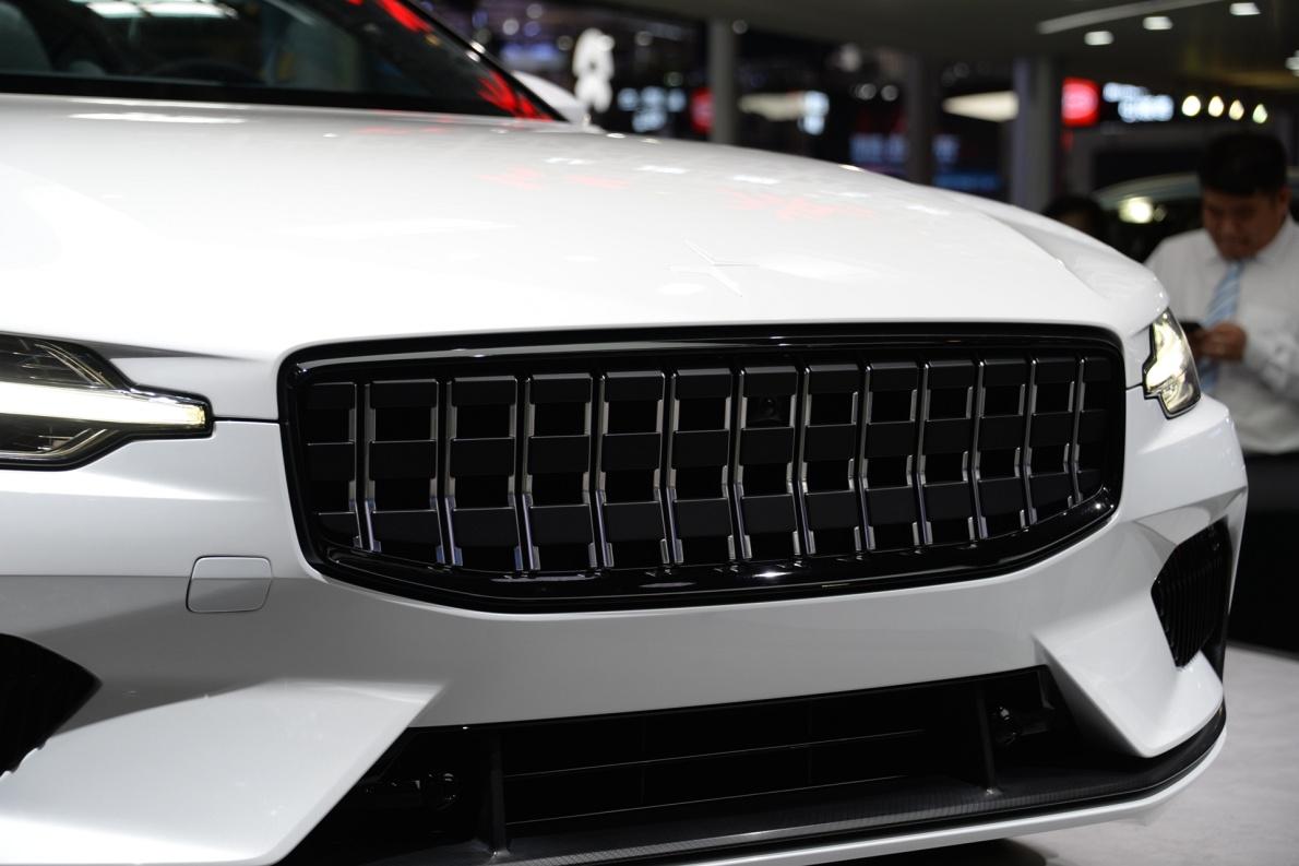2018款 Polestar 1 车展 细节