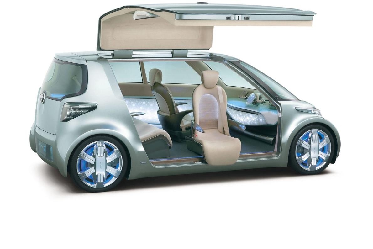 2006款 丰田 Fine-T Fuel Cell Hybrid Concept 官图 座椅空间