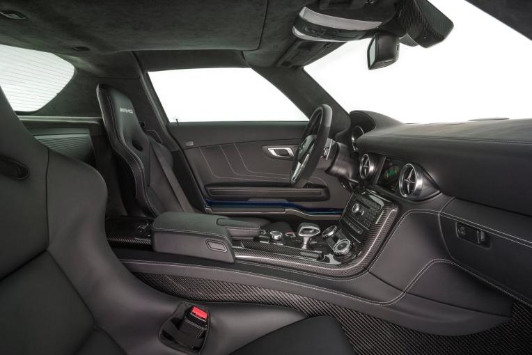 SLS级AMG 座椅空间