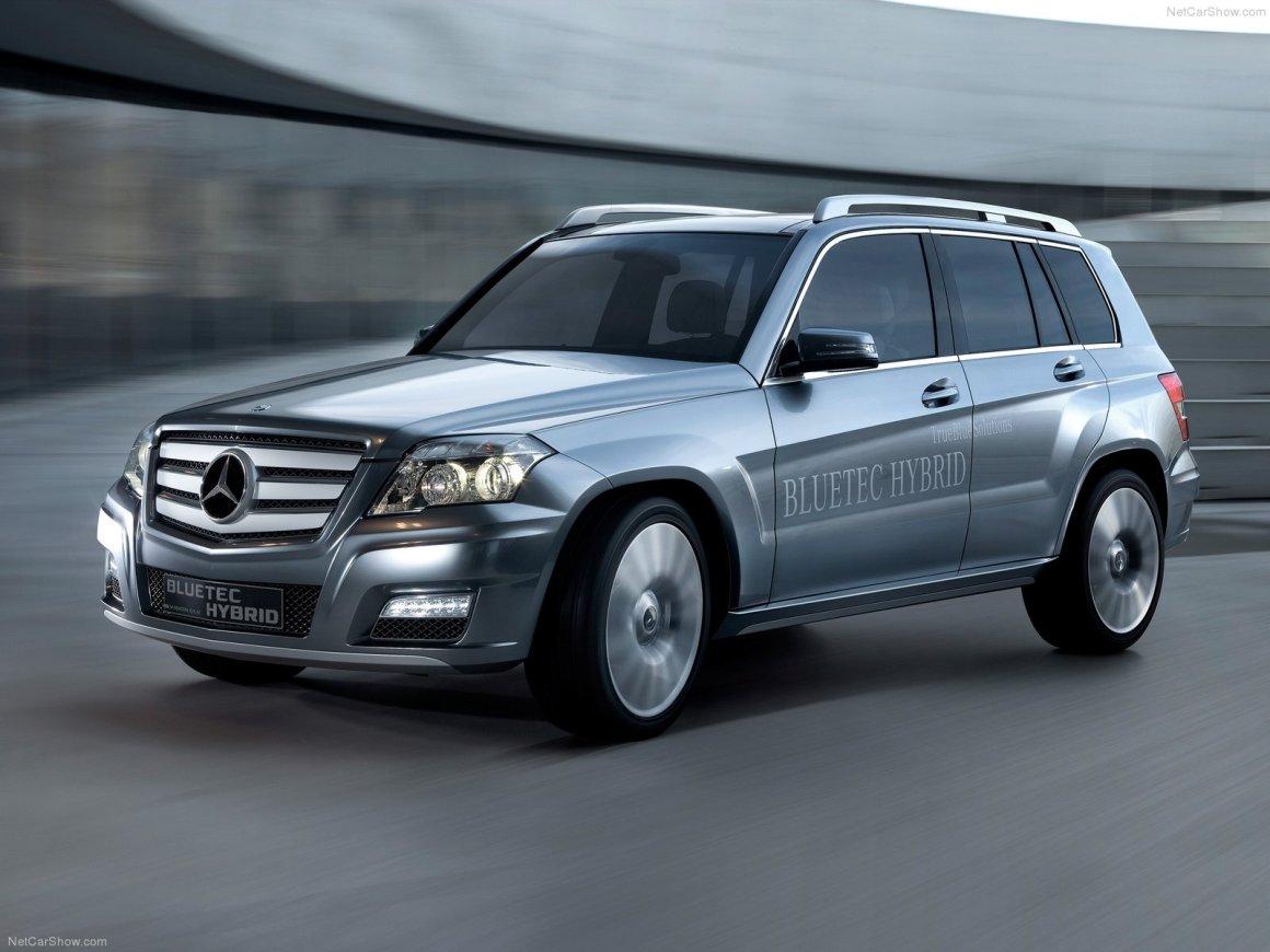 2008款 奔驰 GLK Bluetec Hybrid Concept 官图 外观