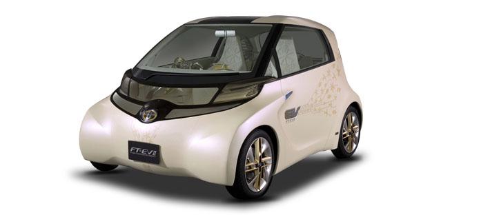2010款 丰田 FT-EV II Concept 头图