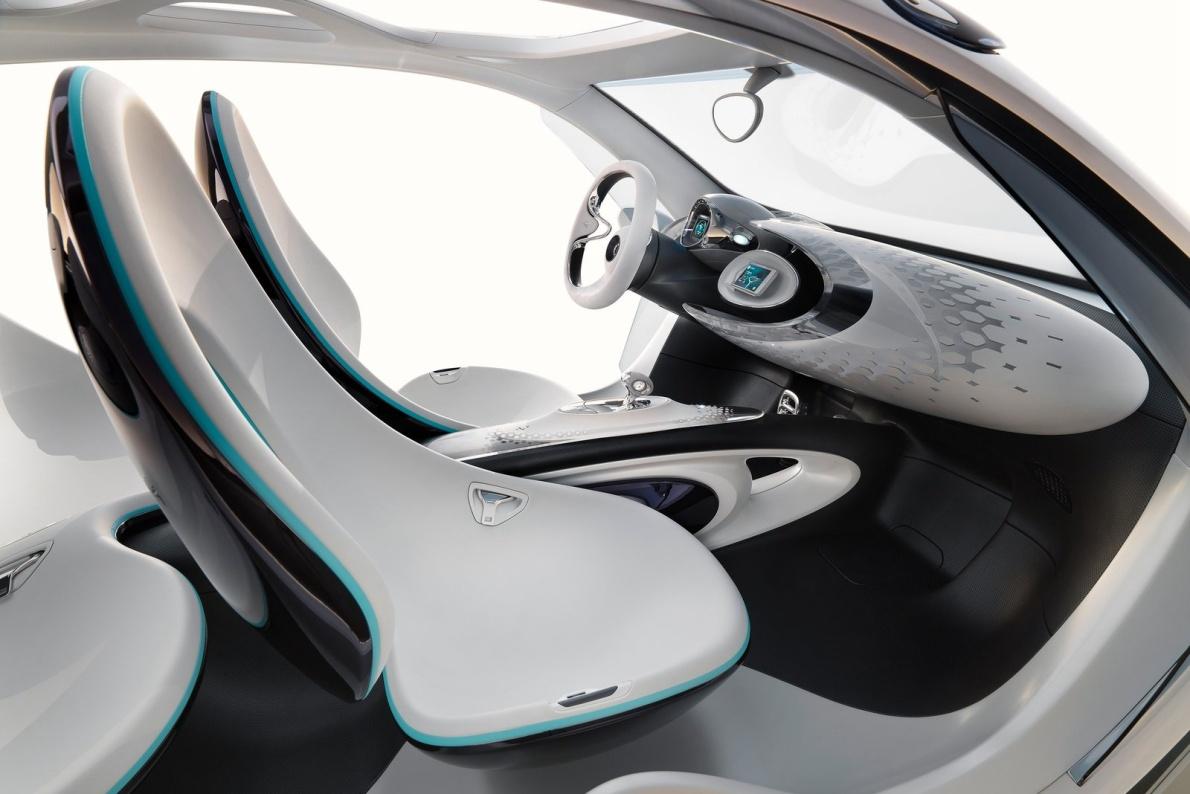2013款 smart fourJoy Concept 官图 座椅空间