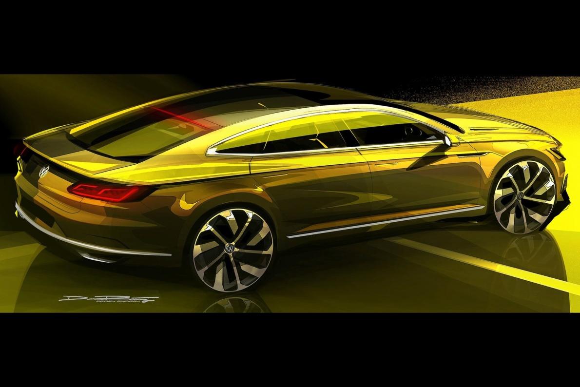 2015款 大众 Sport Coupe GTE Concept 官图 外观
