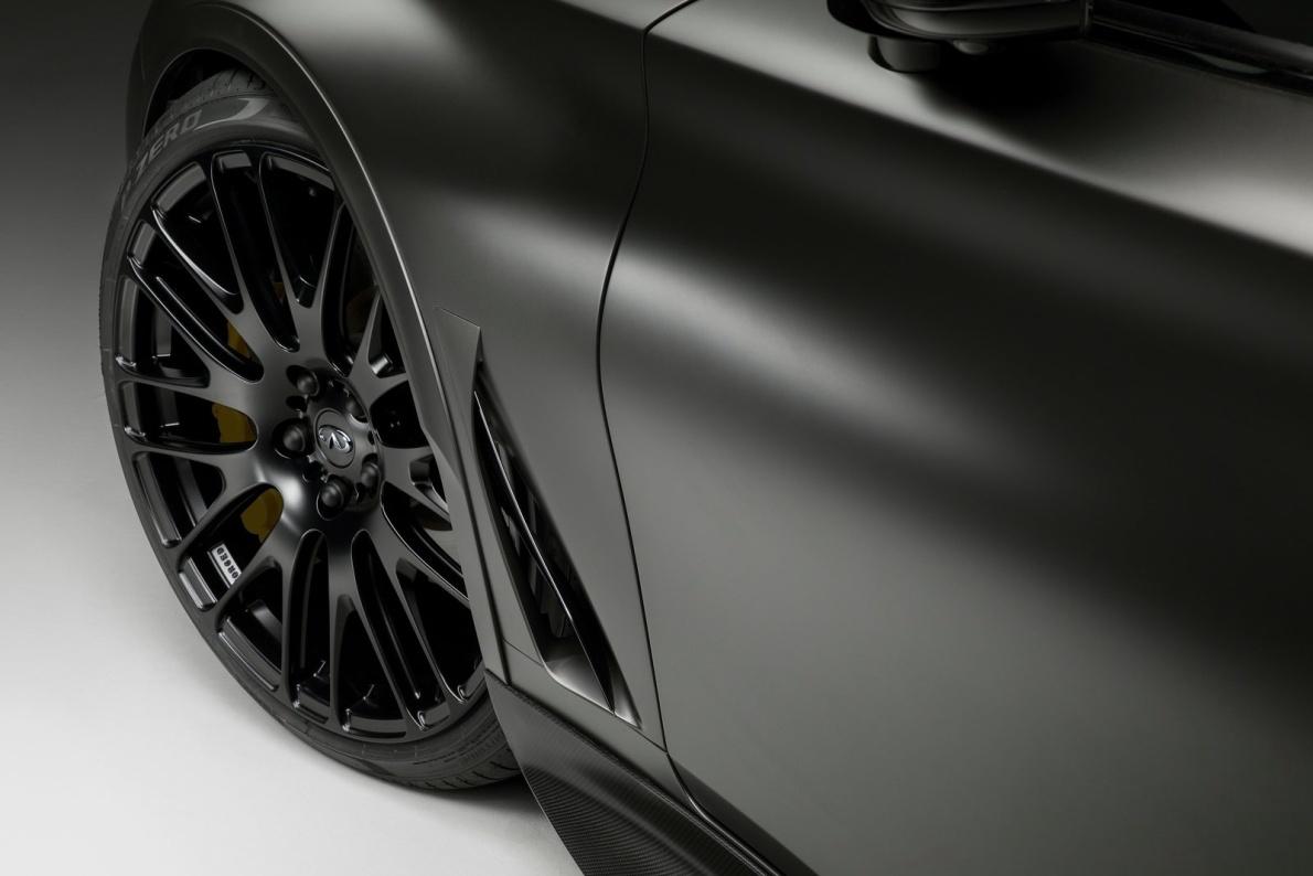 2017款 英菲尼迪Q60 Project Black S Concept 官图 外观细节