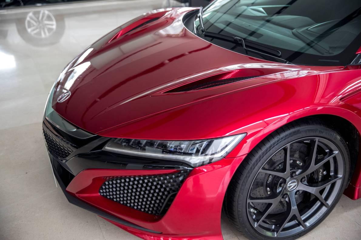 2016款 讴歌 NSX 基本型 红色 实拍 外观细节