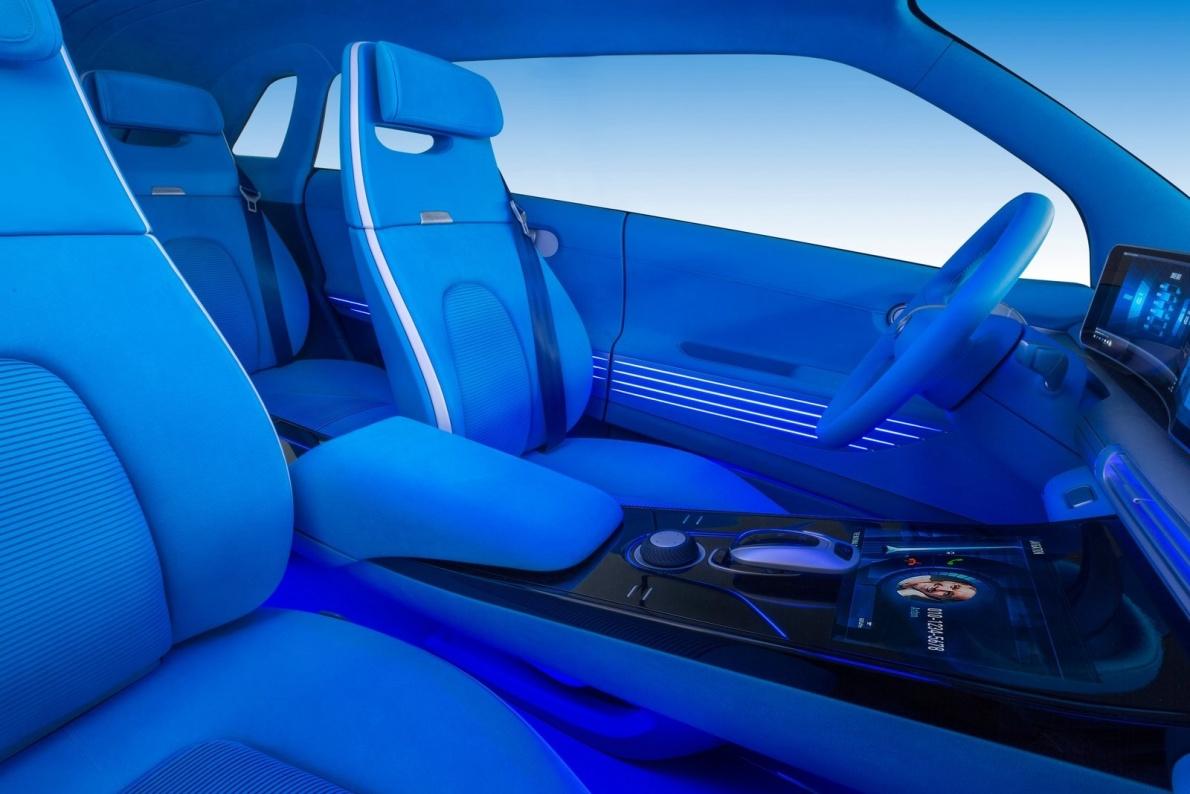 2017款 现代 Fuel Cell Concept 官图 座椅空间