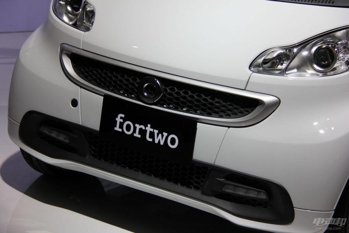 2014广州车展smart fortwo EV