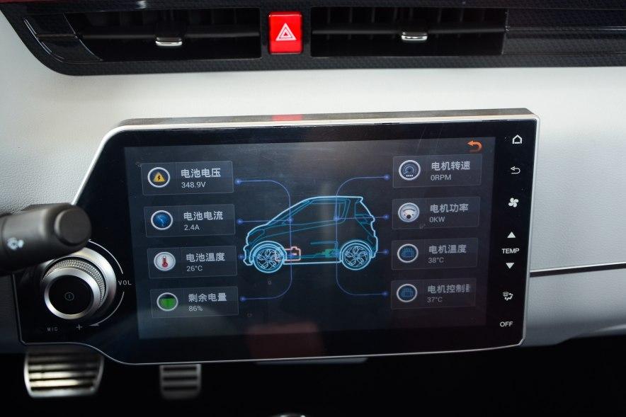 2016款 众泰E200科技版 实拍 内饰