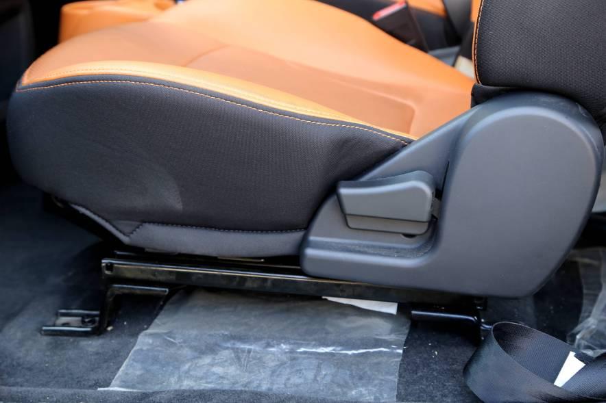 2017款 奇瑞eQ1 豪华版 实拍 座椅空间