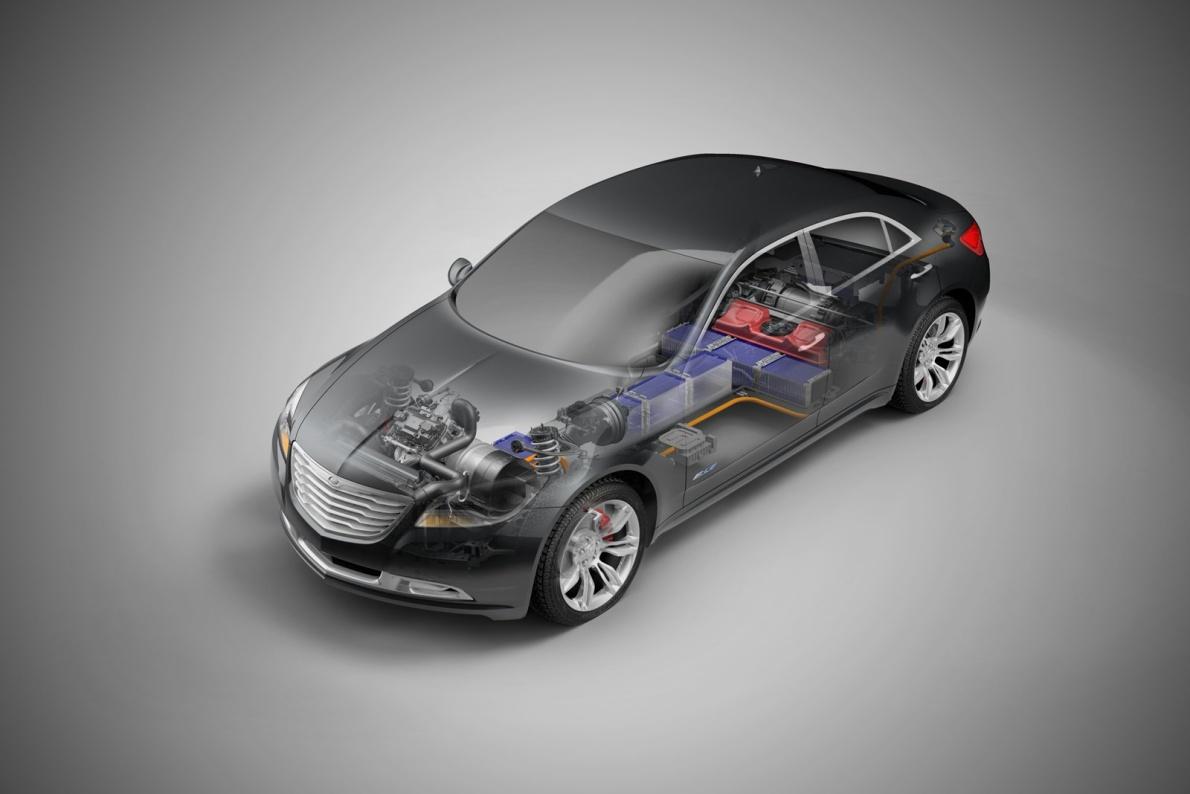 2009款 克莱斯勒 200C EV Concept 官图 动力底盘