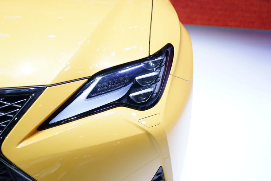 2018款 雷克萨斯 RC 300h 车展 细节