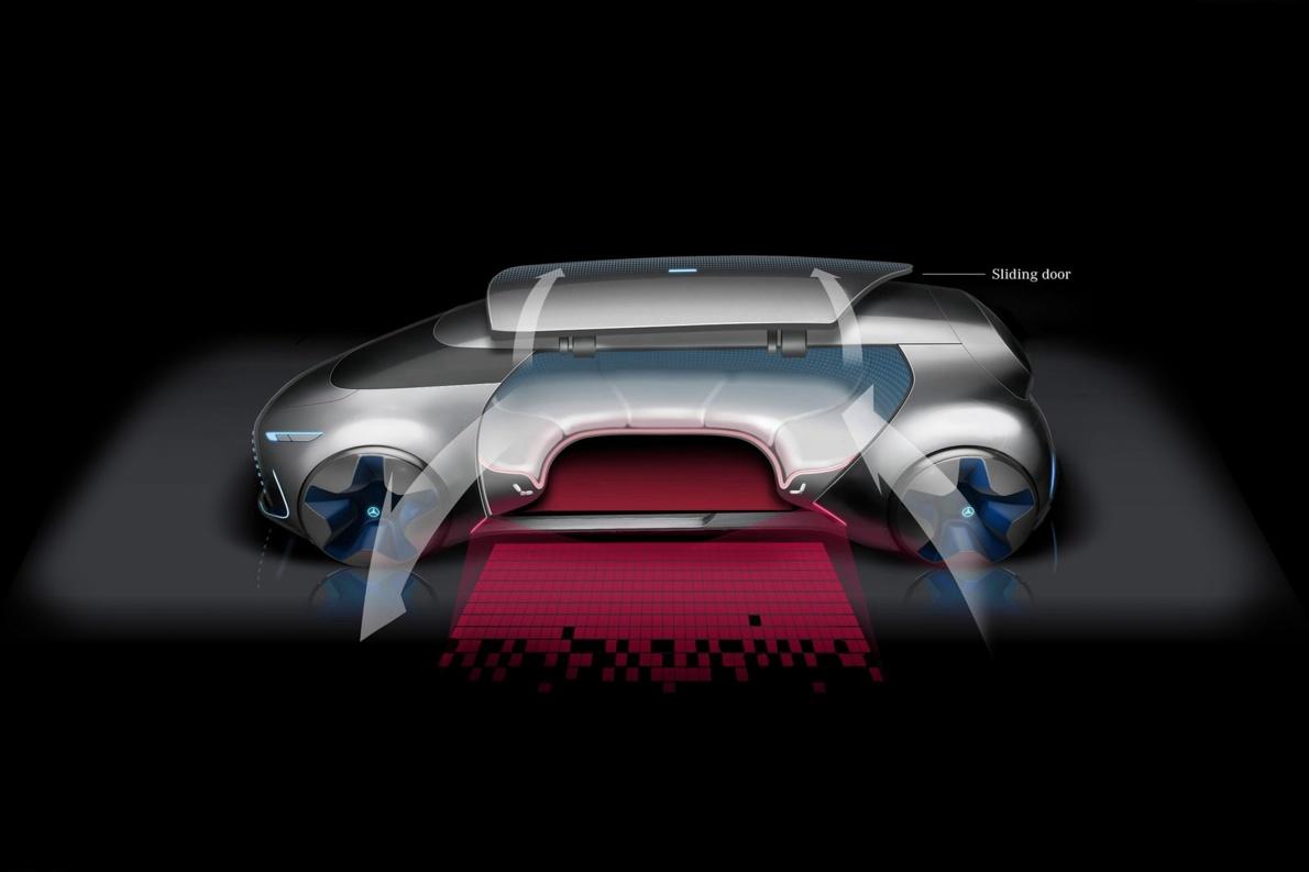 2020款 奔驰Vision Tokyo Concept 官方图片