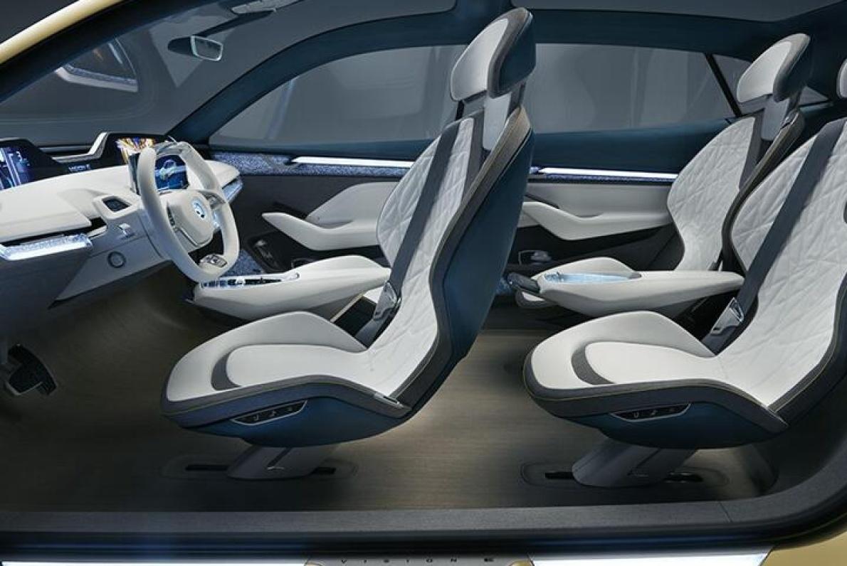 2017款 斯柯达 VISION E Concept 官图 座椅空间
