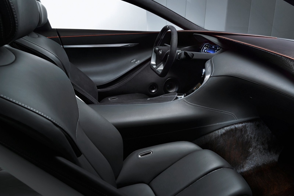 2015款 英菲尼迪Q80 官图 座椅空间