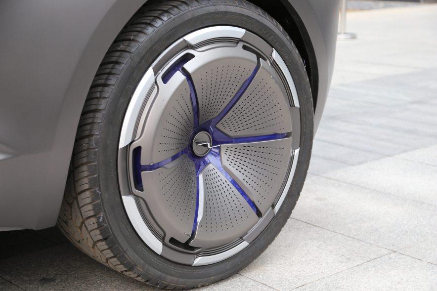2016款 奇点汽车 Concept 基本型 实拍 外观细节