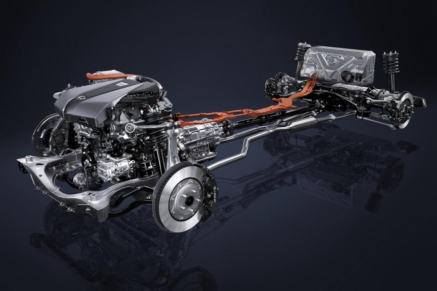 2016款 雷克萨斯LC500h 官图 动力底盘