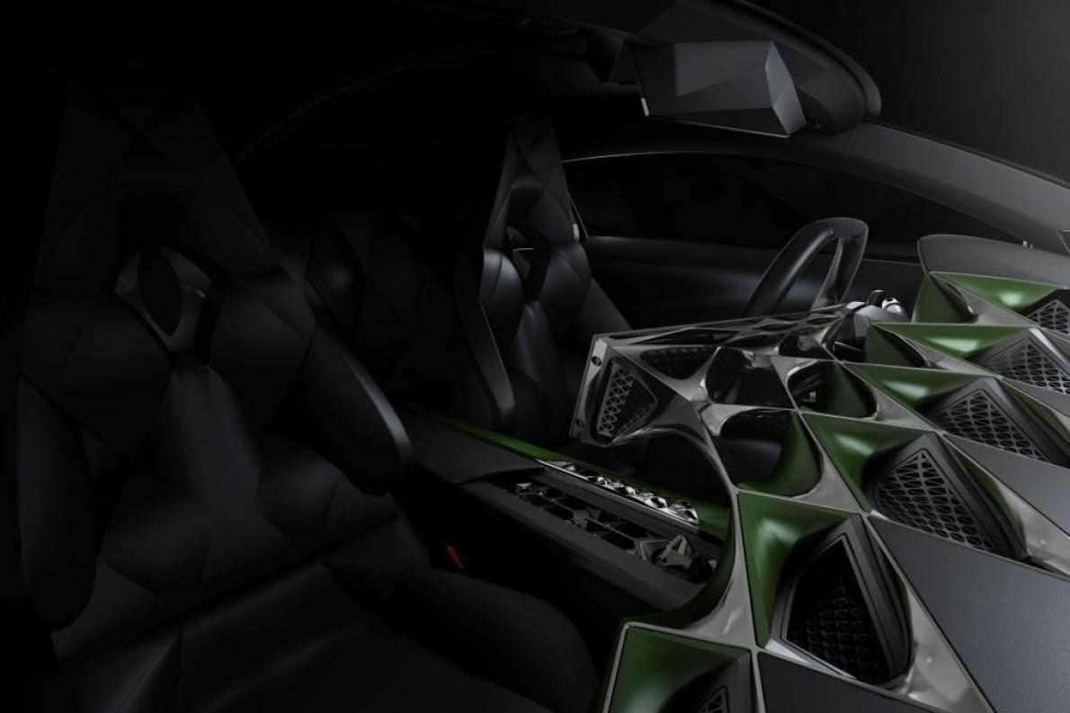 2016款 DS E-Tense Concept 官图 座椅空间