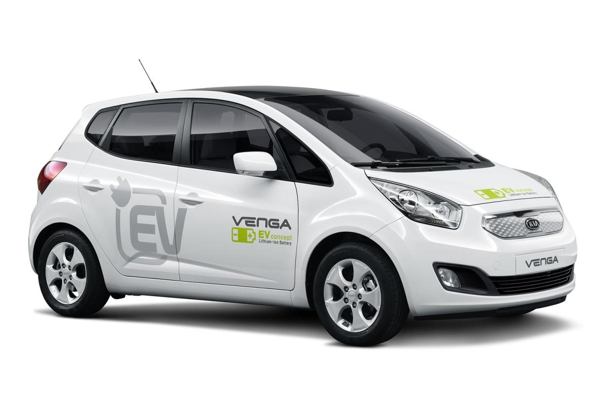 2010款 起亚 Venga EV Concept 官图 外观