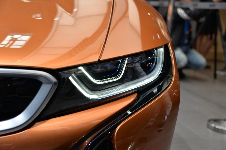 2019款 宝马 i8 Roadster 车展 细节