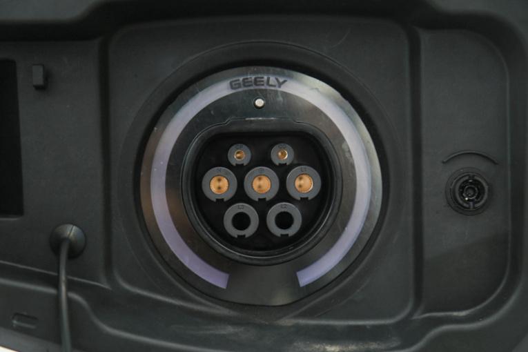 博瑞GE新能源 充电