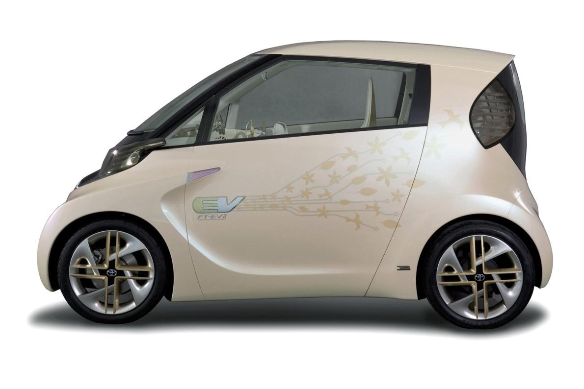 2010款 丰田 FT-EV II Concept 官图 外观