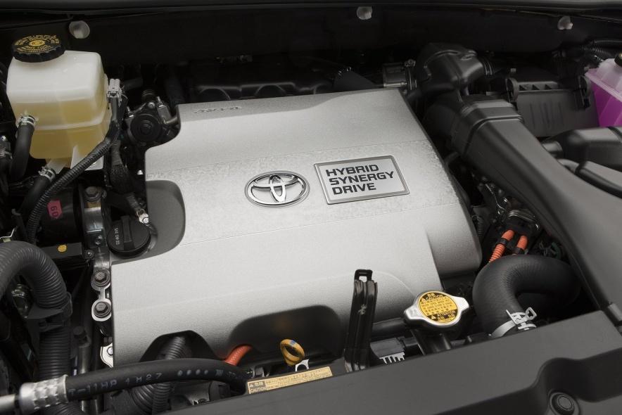 2011款 丰田 汉兰达 Hybrid 官图 动力底盘