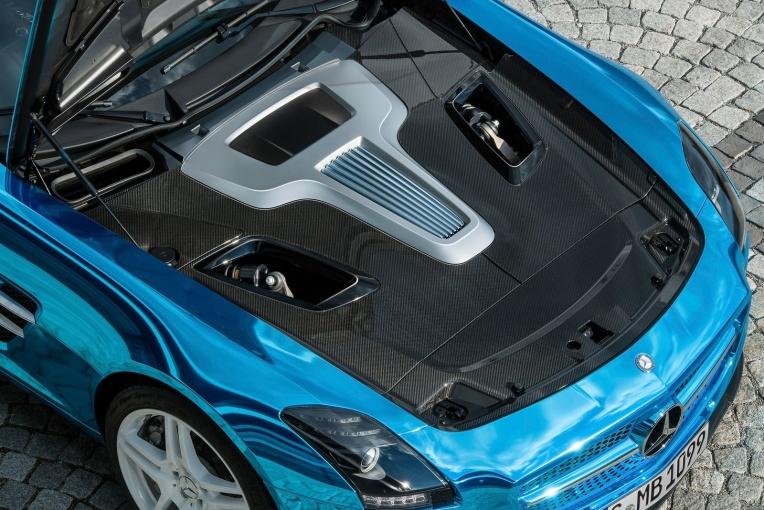 SLS级AMG 动力底盘